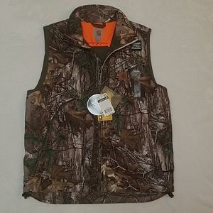 Medium Carhartt X Realtree Camouflage Vest